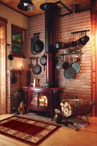 ポールキャスナー 薪ストーブのある生活薪小屋